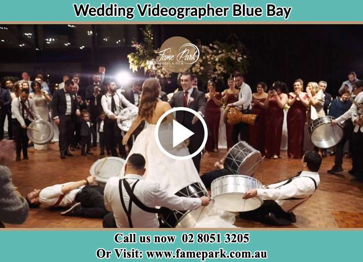 Bride and Groom at the dance floor Blue Bay NSW 2261