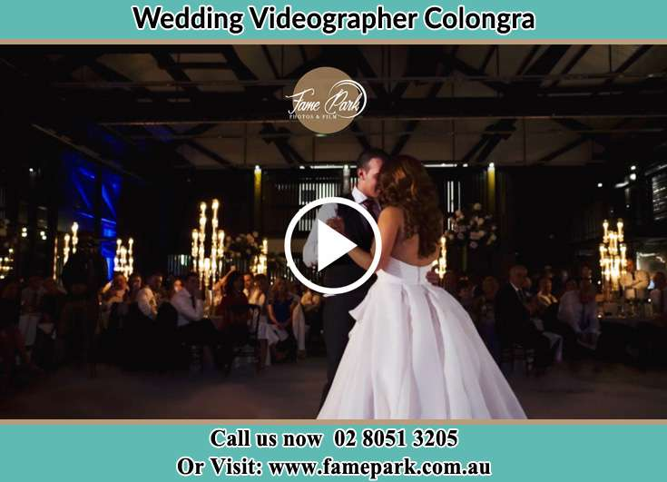 Bride and Groom looking at each other at the dance floor Colongra NSW 2262