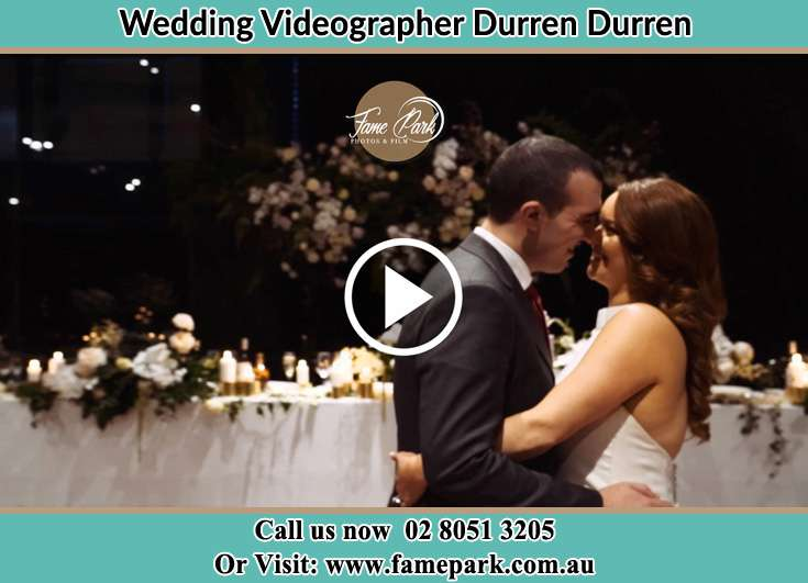 Bride and Groom looking each other while dancing Durren Durren NSW 2259