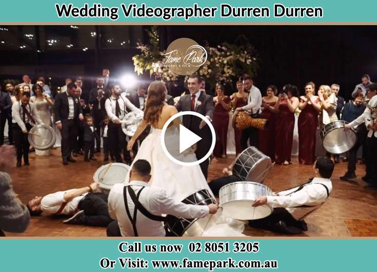Bride and Groom dancing at the dance floor Durren Durren NSW 2259