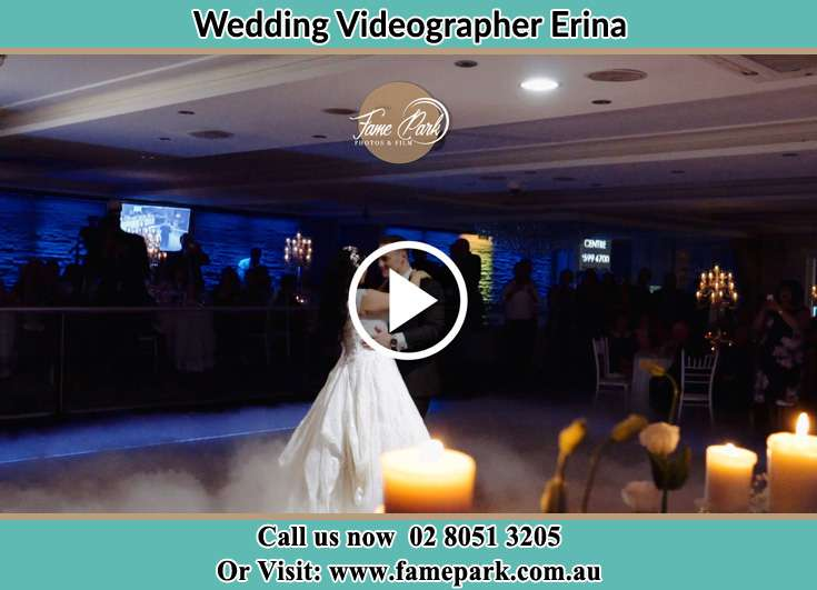 Bride and Groom at the dance floor Erina NSW 2250