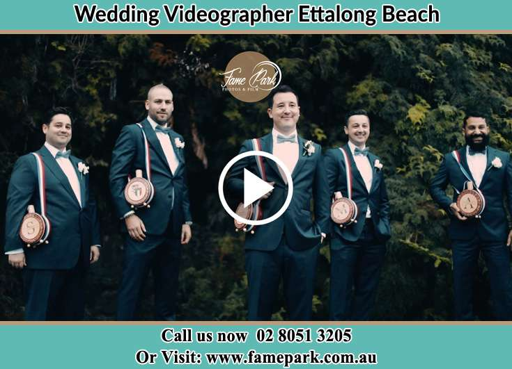 Groom and his secondary sponsors already prepared Ettalong Beach NSW 2257