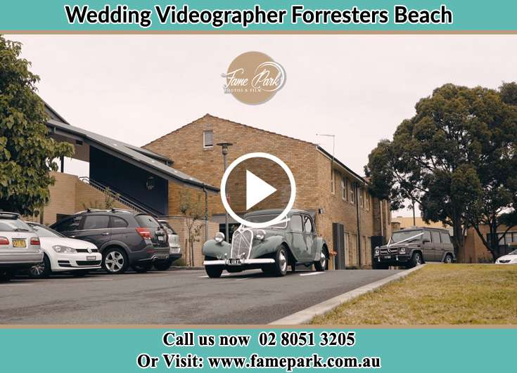 The bridal car Forresters Beach NSW 2260