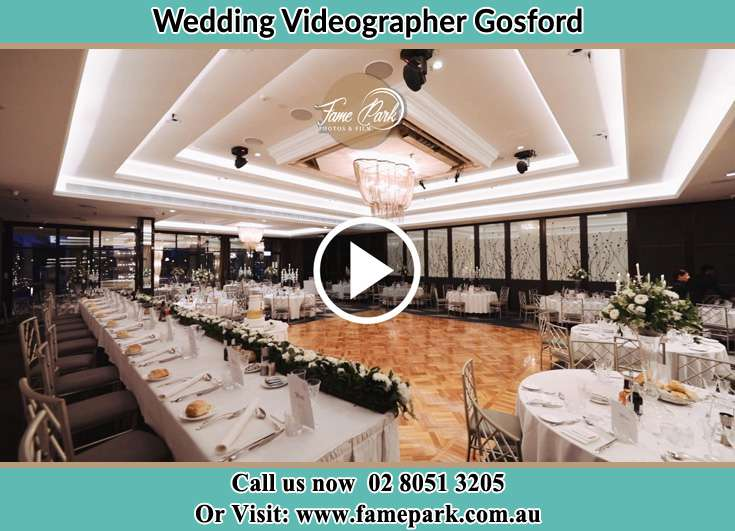 The reception Gosford NSW 2250