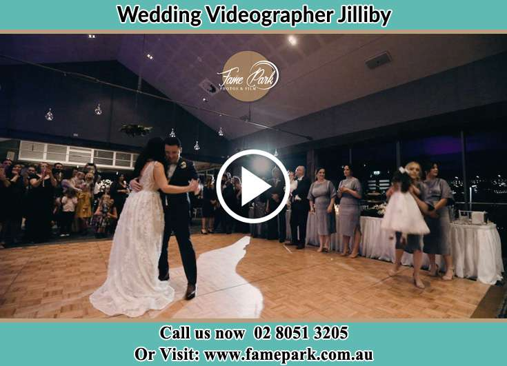 The Bride and Groom dancing sweetly Jilliby NSW 2259