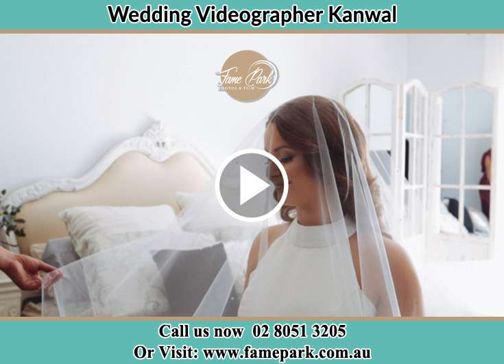 The Bride in her wedding gown Kanwal NSW 2259