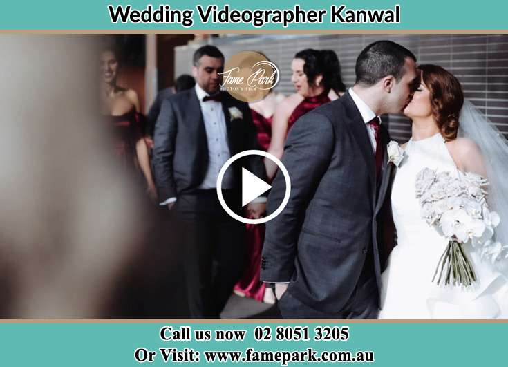 The Bride kiss by her Groom Kanwal NSW 2259
