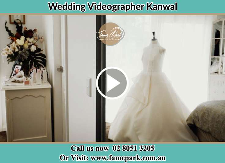 The Bride's elegant wedding gown Kanwal NSW 2259