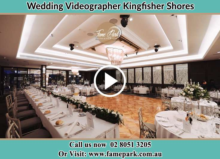 The reception Kingfisher Shores NSW 2259