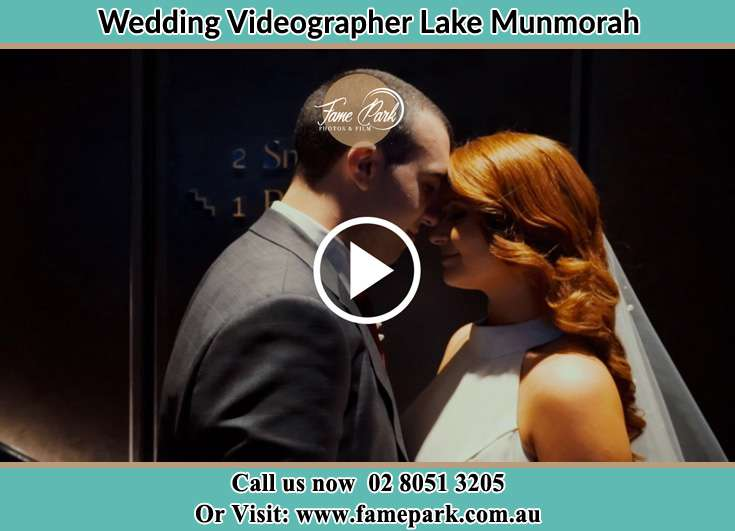 Bride and Groom looking at each other Lake Munmorah NSW 2259