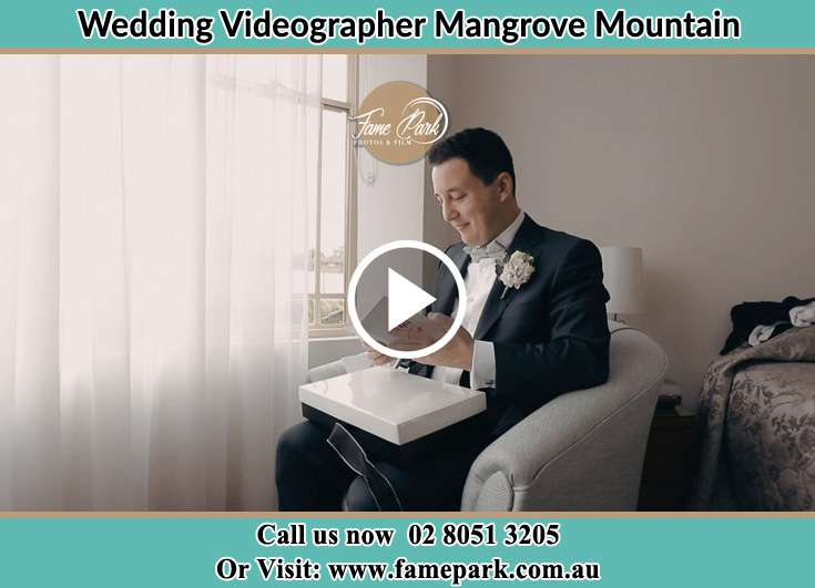 Groom sitting and already prepared Mangrove Mountain NSW 2250