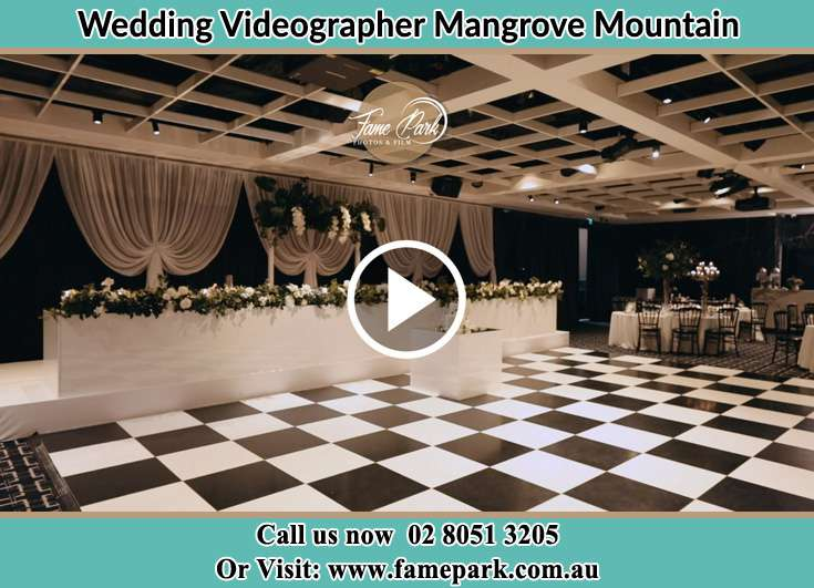 The reception Mangrove Mountain NSW 2250