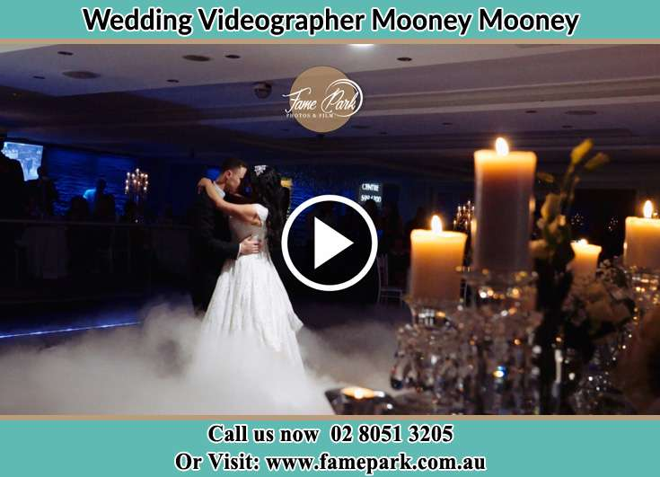 Bride and Groom dance at the dance floor Mooney Mooney NSW 2083
