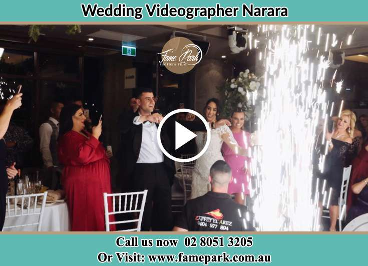 Bride and Groom at the dance floor Narara NSW 2104