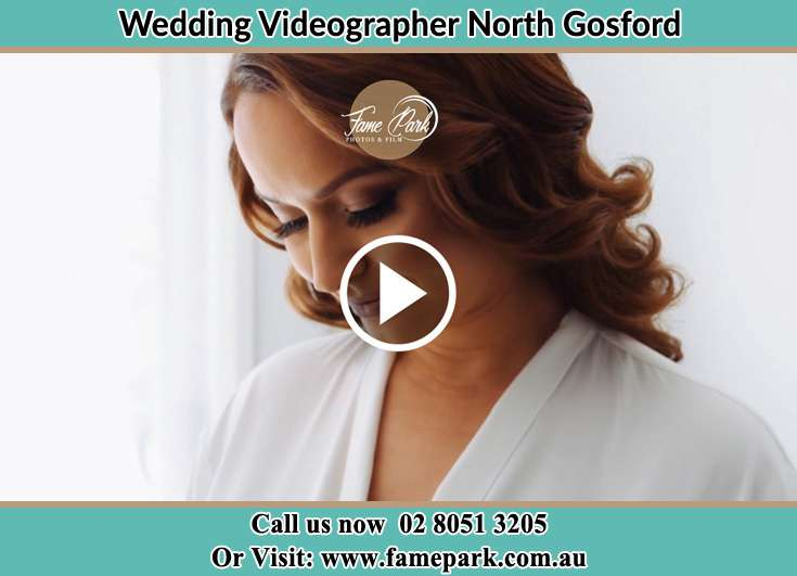 Bride getting ready for the event North Gosford NSW 2250