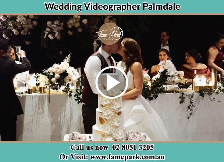 Bride and Groom kissed at the reception Palmdale NSW 2258