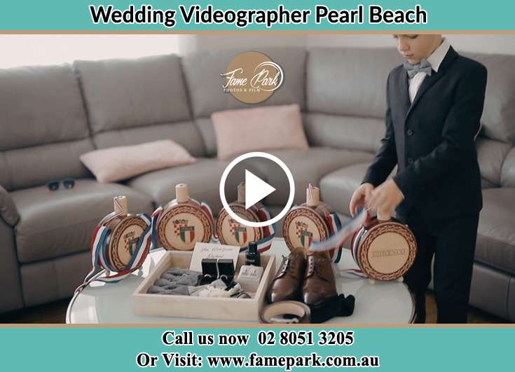 Groom wedding accessories Pearl Beach NSW 2256