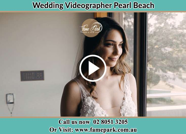 Bride getting ready Pearl Beach NSW 2256