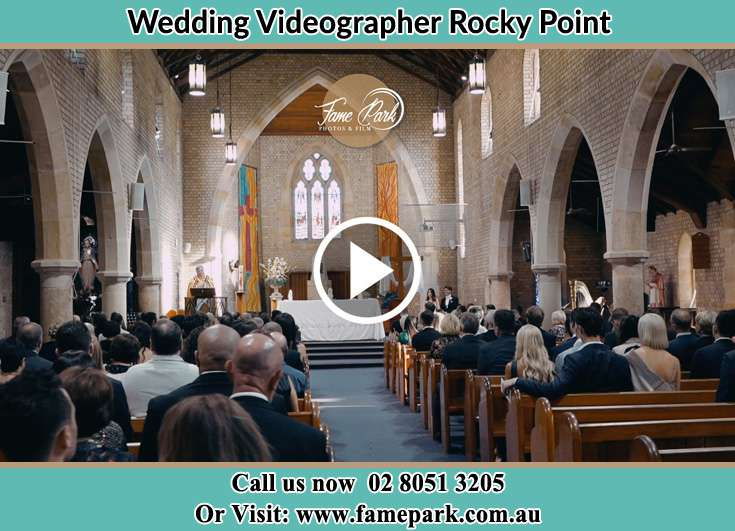 During a wedding ceremony Rocky Point NSW 2259