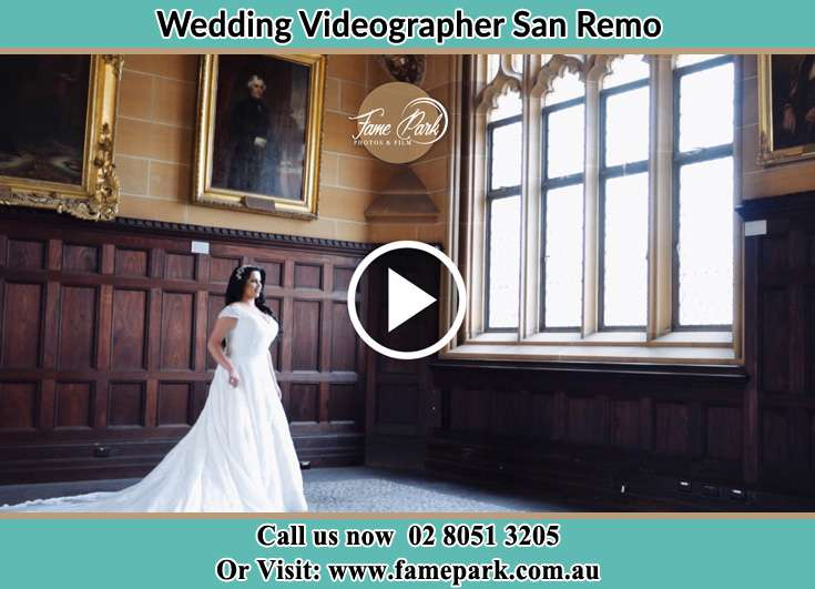 The Bride standing near the window San Remo NSW 2262
