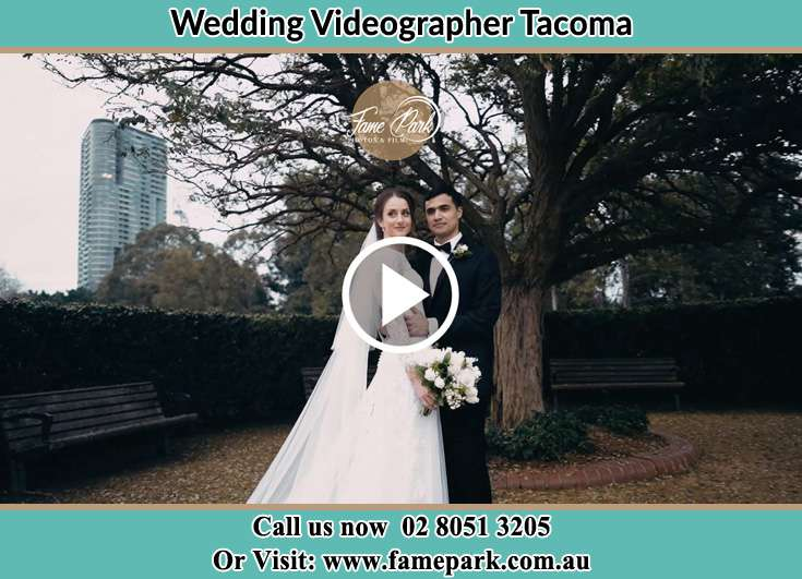 The new couple posed for the camera Tacoma NSW 2259
