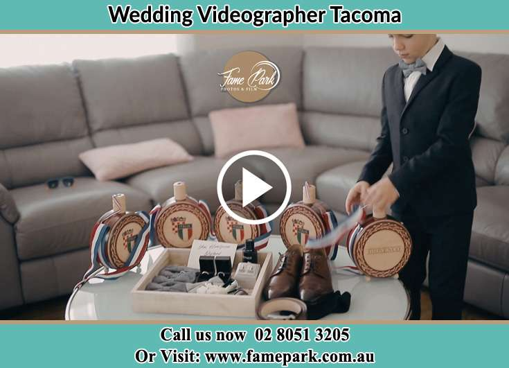 The Groom preparing the things to be used for his big event Tacoma NSW 2259