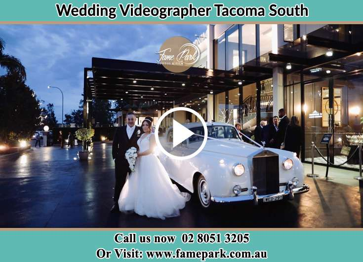 The new couple posed for the camera Tacoma South NSW 2259