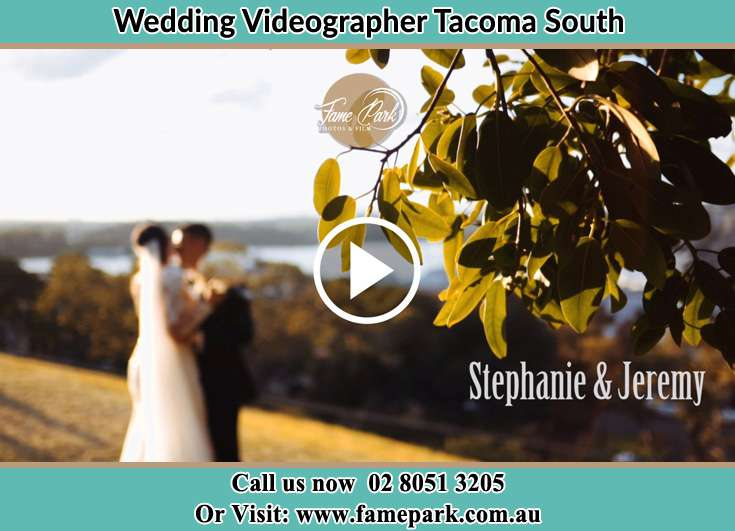 The Groom and the Bride close to each other Tacoma South NSW 2259
