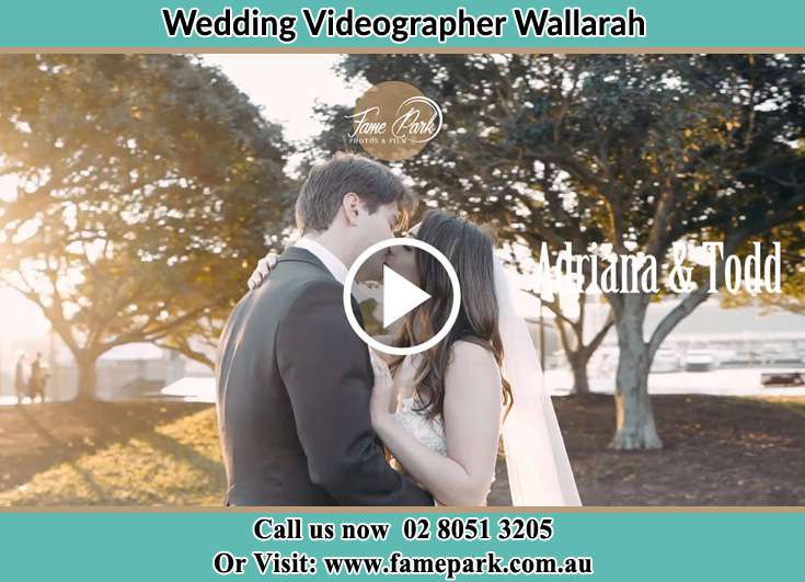 The new couple kissing on the yard Wallarah NSW 2259