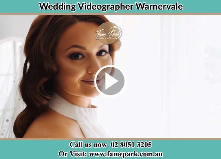The Bride smilingly posed for the camera Warnervale NSW 2259